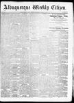 Albuquerque Weekly Citizen, 08-01-1891