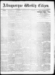 Albuquerque Weekly Citizen, 08-08-1891