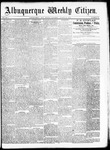 Albuquerque Weekly Citizen, 08-29-1891