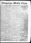 Albuquerque Weekly Citizen, 09-05-1891