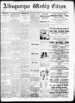 Albuquerque Weekly Citizen, 09-19-1891