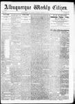 Albuquerque Weekly Citizen, 10-10-1891