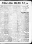 Albuquerque Weekly Citizen, 10-31-1891