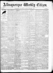 Albuquerque Weekly Citizen, 11-07-1891