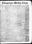 Albuquerque Weekly Citizen, 11-14-1891
