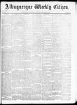 Albuquerque Weekly Citizen, 11-28-1891