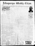 Albuquerque Weekly Citizen, 08-19-1893