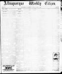 Albuquerque Weekly Citizen, 10-19-1895