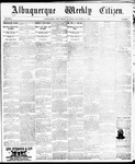 Albuquerque Weekly Citizen, 11-23-1895