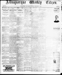 Albuquerque Weekly Citizen, 12-21-1895
