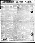 Albuquerque Weekly Citizen, 12-28-1895