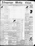 Albuquerque Weekly Citizen, 11-07-1896
