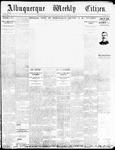 Albuquerque Weekly Citizen, 11-14-1896