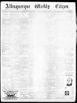 Albuquerque Weekly Citizen, 10-23-1897