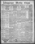 Albuquerque Weekly Citizen, 01-06-1900