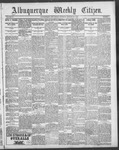 Albuquerque Weekly Citizen, 01-20-1900