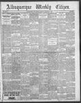 Albuquerque Weekly Citizen, 01-27-1900