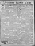 Albuquerque Weekly Citizen, 05-05-1900