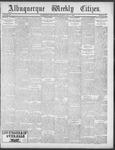 Albuquerque Weekly Citizen, 07-07-1900