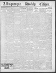 Albuquerque Weekly Citizen, 07-14-1900