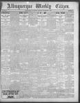 Albuquerque Weekly Citizen, 09-08-1900