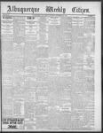 Albuquerque Weekly Citizen, 09-22-1900
