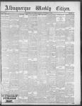 Albuquerque Weekly Citizen, 09-29-1900