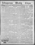 Albuquerque Weekly Citizen, 10-06-1900