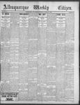 Albuquerque Weekly Citizen, 10-20-1900