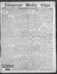 Albuquerque Weekly Citizen, 11-17-1900