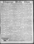 Albuquerque Weekly Citizen, 11-24-1900