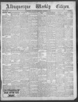 Albuquerque Weekly Citizen, 12-08-1900