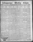 Albuquerque Weekly Citizen, 12-22-1900