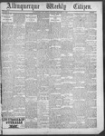 Albuquerque Weekly Citizen, 12-29-1900