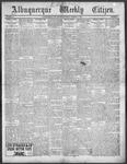 Albuquerque Weekly Citizen, 01-05-1901