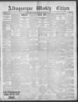 Albuquerque Weekly Citizen, 01-12-1901