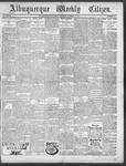 Albuquerque Weekly Citizen, 01-19-1901