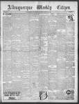 Albuquerque Weekly Citizen, 01-26-1901