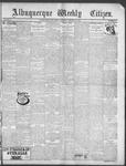 Albuquerque Weekly Citizen, 02-09-1901