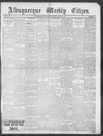 Albuquerque Weekly Citizen, 03-09-1901