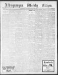 Albuquerque Weekly Citizen, 05-04-1901