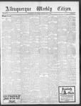 Albuquerque Weekly Citizen, 05-18-1901