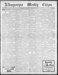 Albuquerque Weekly Citizen, 05-25-1901