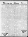 Albuquerque Weekly Citizen, 06-15-1901