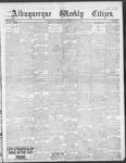 Albuquerque Weekly Citizen, 06-22-1901