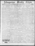 Albuquerque Weekly Citizen, 07-20-1901