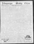 Albuquerque Weekly Citizen, 10-05-1901