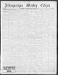 Albuquerque Weekly Citizen, 10-12-1901