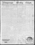 Albuquerque Weekly Citizen, 10-19-1901