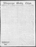 Albuquerque Weekly Citizen, 11-09-1901